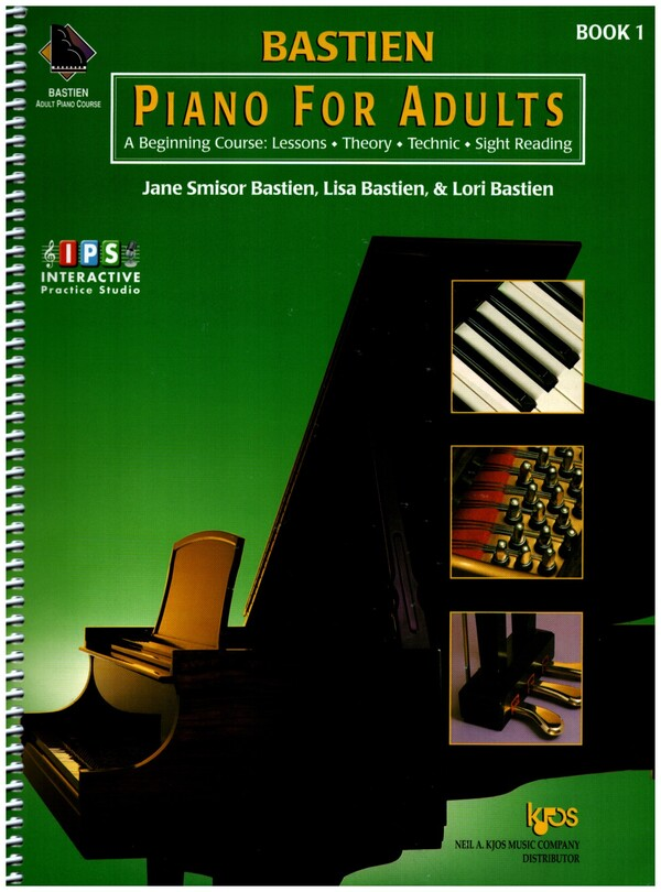 Bastien, Jane Smisor - Piano for Adults Vol.1 (+2CDs) :