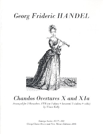 Chandos Ouvertures 10 and 11a: for 3 recorders (ATB)