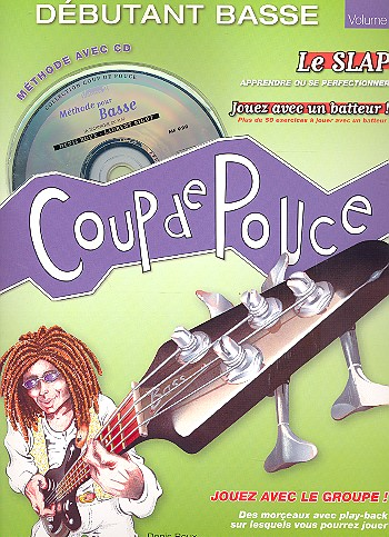Débutant basse vol.2 (+CD) Collection Coup de Pouce