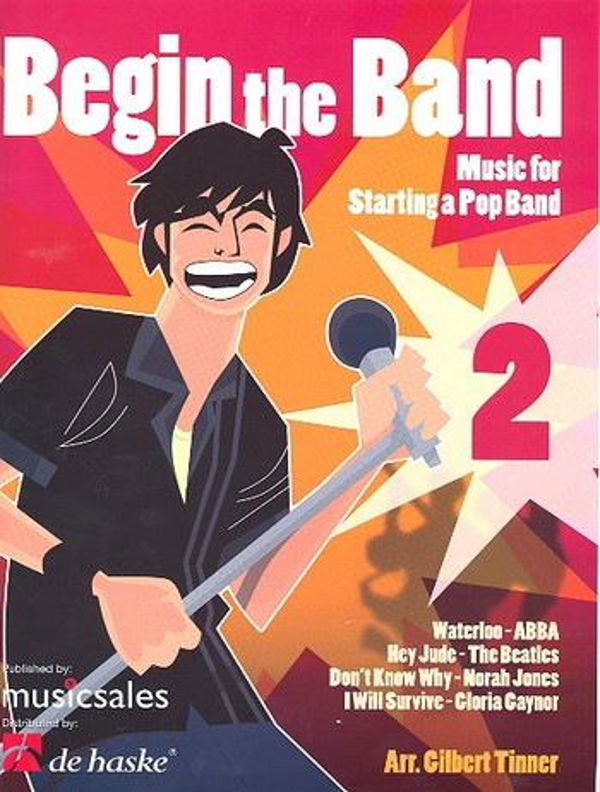 Begin the Band vol.2: Partitur und Stimmen
