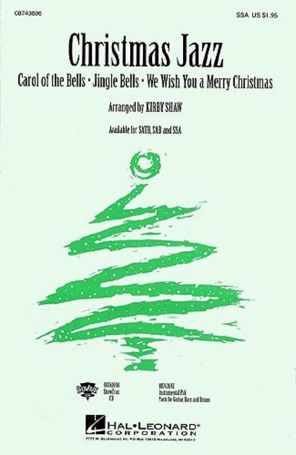 Christmas Jazz: for female chorus (SSA)