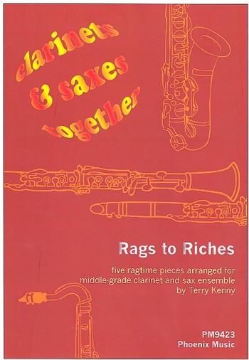 Rags to Riches: 5 Stücke für 4 Klarinetten und 4 Saxophone ( Ensemble )