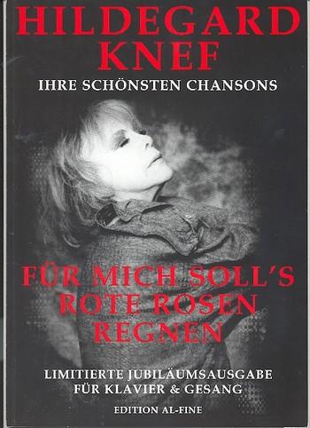 Hildegard Knef (+CD): Ihre schönsten Chansons Songbook für Klavier/Gesang/Gitarre