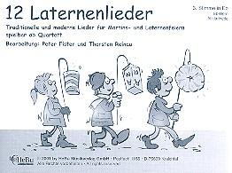 12 Laternenlieder: für 4-stimmiges Bläser-Ensemble