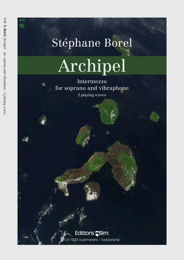 Archipel: for soprano and vibraphone 2 scores
