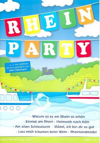 Rhein-Party: für Gesang/Klavier/Gitarre