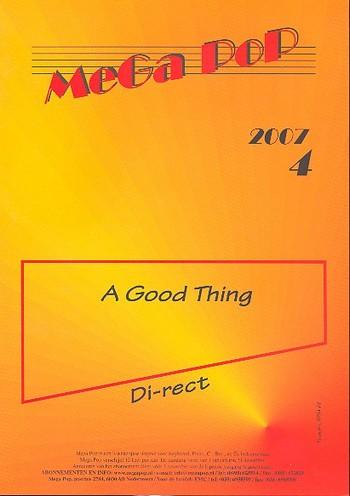 A good Thing: Einzelausgabe (en) für Klavier (mit Text und Gitarrenakkorden)