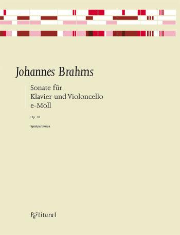 Brahms, Johannes - Sonate e-Moll op.38 : für Violoncello