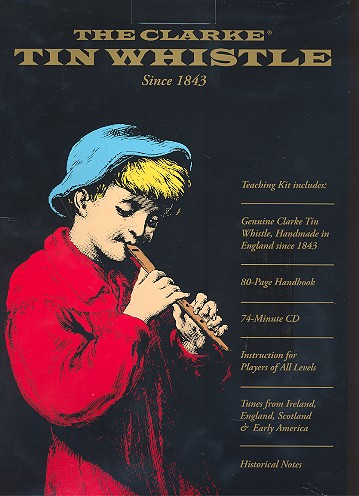 Learn to play the Tin Whistle (+CD + instrument in D)