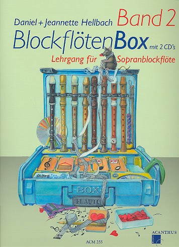 Hellbach, Daniel - Blockflötenbox Band 2 (+2 CD's) :