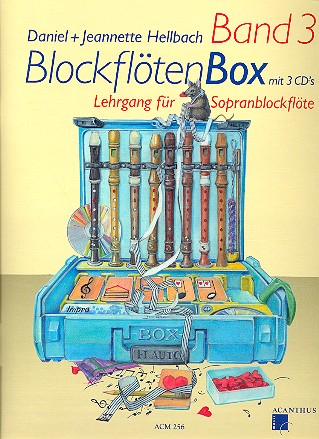 Blockflötenbox Band 3 (+3 CD\