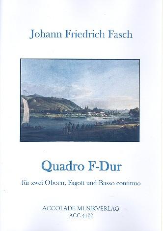 Quadro F-Dur FWV N:F2: für 2 Oboen, Fagott und Bc