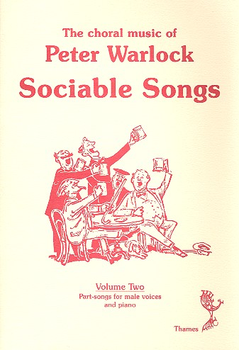 Sociable Songs Vol.2: Part-Songs for Male Chorus and Piano