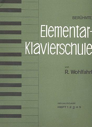 Berühmte Elementar-Klavierschule opus.222 Band 3