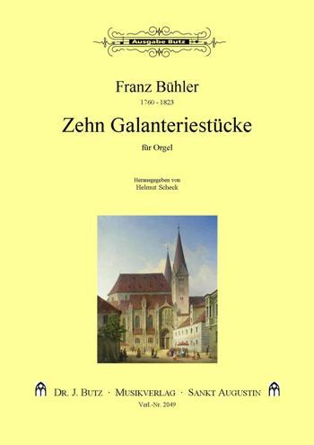 10 Galanteriestücke: für Orgel