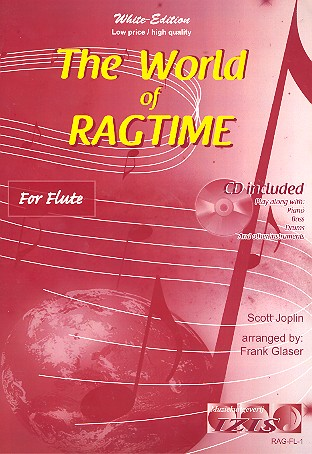The World of Ragtime (+CD): for flute