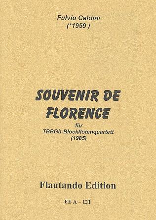 Souvenir de Florence: für 4 Blockflöten (TBBGb)
