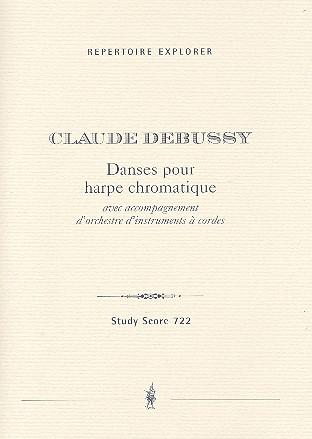 Danses pour harpe chromatique: für Harfe und Streichorchester