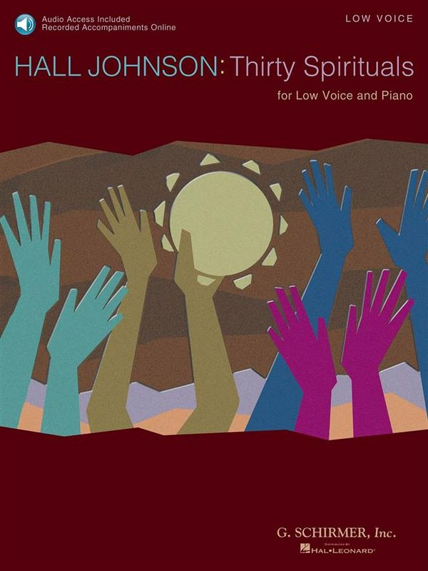 30 Spirituals (+CD): for low voice and piano
