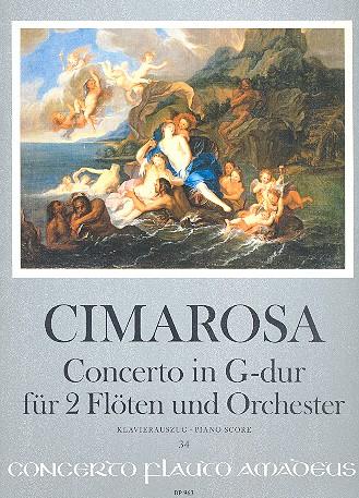 Cimarosa, Domenico - Konzert G-Dur für 2 Flöten und