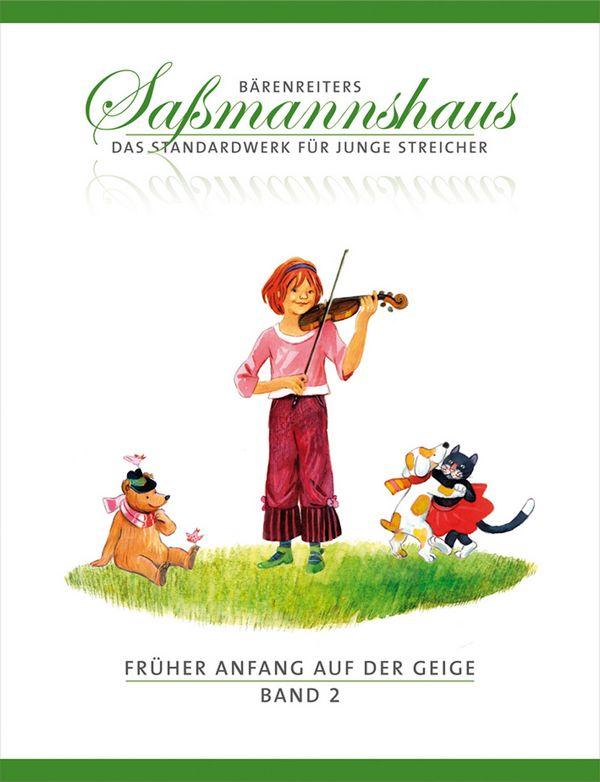 Sassmannshaus, Egon - Früher Anfang auf der Geige Band 2 :