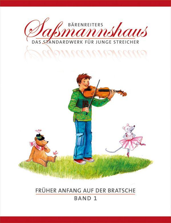Früher Anfang auf der Bratsche Band 1: für Viola
