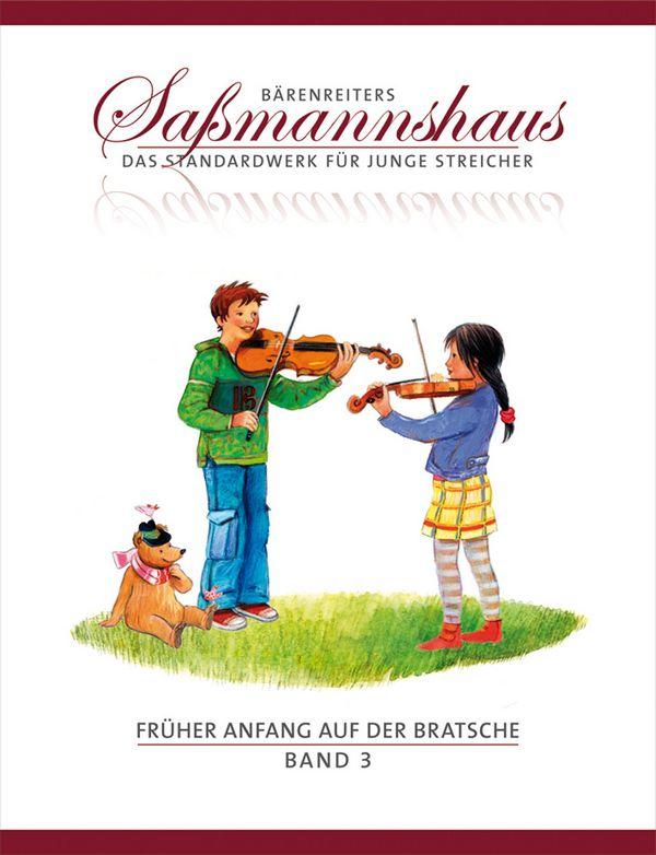 Früher Anfang auf der Bratsche Band 3: für Viola