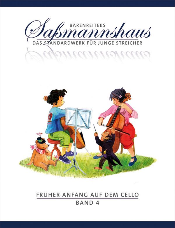 Sassmannshaus, Egon - Früher Anfang auf dem Cello Band 4 :