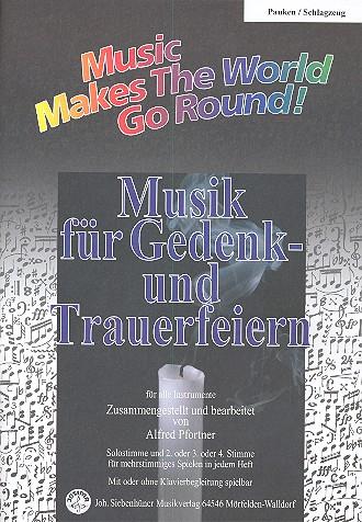 Musik für Gedenk- und Trauerfeiern: für flexibles Ensemble