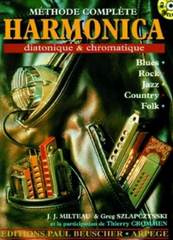 Méthode compléte de Harmonica diatonique et chromatique (+CD)