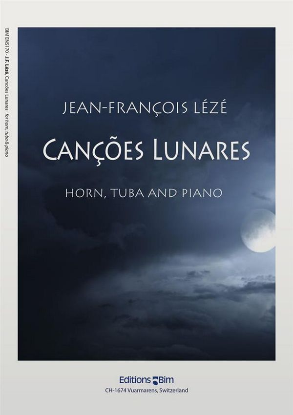 Cancoes Lunares: for horn, tuba and piano parts