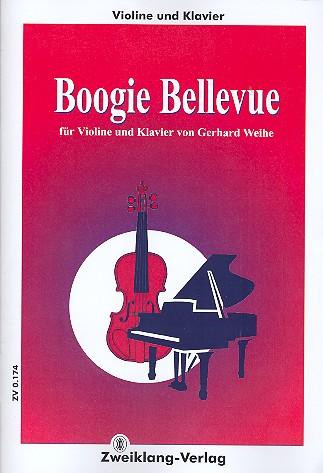 Boogie Bellevue: für Violine und Klavier