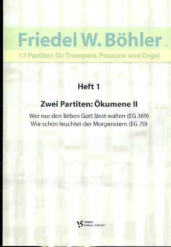 17 Partiten Band 1: für Trompete, Posaune und Orgel