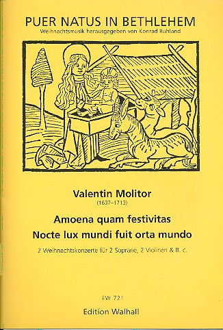 2 Weihnachtskonzerte: für 2 Soprane, 2 Violinen und Bc