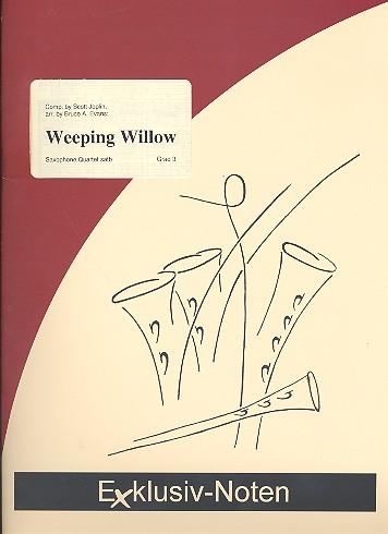 Weeping Willow: für 4 Saxophone (SATBar) Partitur und Stimmen