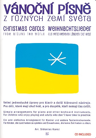 Christmas Carols from around the World (+CD): for piano (vocal/guitar)