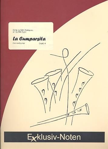 La cumparsita: für 4 Klarinetten (3 Klarinetten und Bassklarinette)