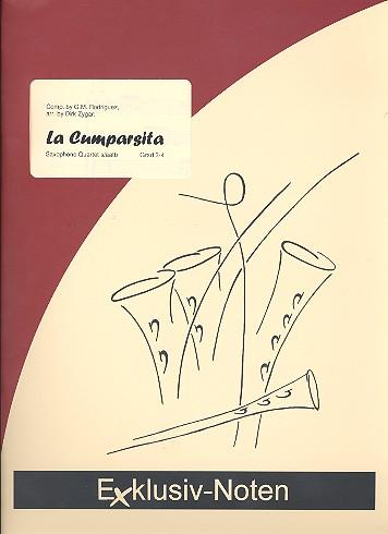 Matos Rodriguez, Gerardo Hernan - La cumparsita : für 4 Saxophone (S(A)ATBar)