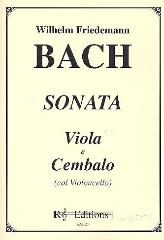 Bach, Wilhelm Friedemann - Sonate : für Viola und Cembalo