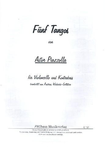Piazzolla, Astor - 5 Tangos :