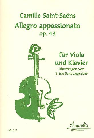 Allegro appassionato opus.43: für Viola und Klavier