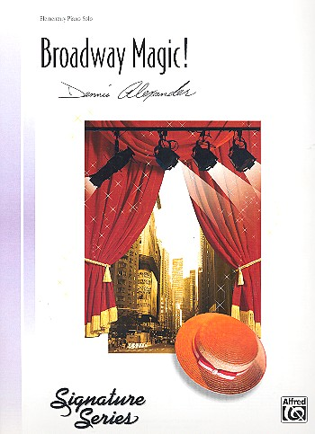 Broadway Magic: for piano (with text) (piano 4 hands)