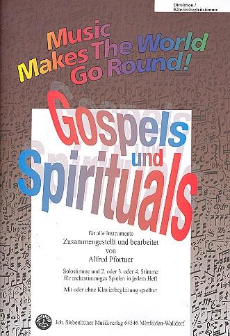 Gospels und Spirituals: für flexibles Ensemble
