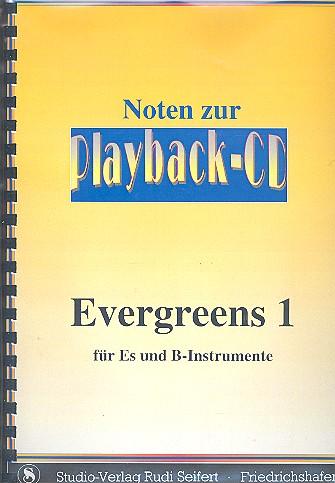 Evergreens Band 1 (+CD): B- und Es-Stimmen