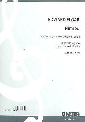 Elgar, Edward - Nimrod : für Orgel