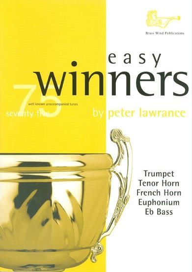 Easy Winners (+CD): for treble brass (trumpet/trombone/euphonium)
