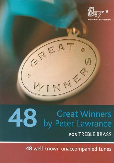 Great Winners (+CD): for trumpet/ baritone/euphonium/trombone in C