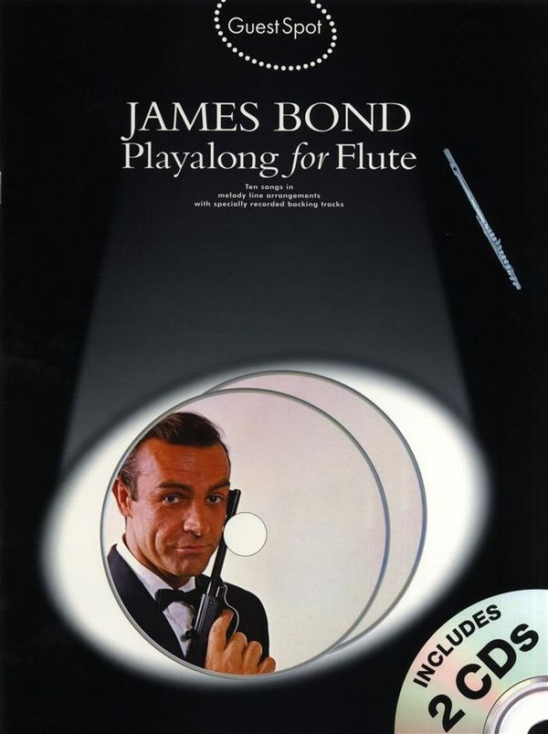- James Bond (+2 CD's) : for flute
