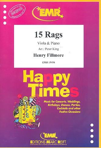 15 Rags: für Viola und Klavier