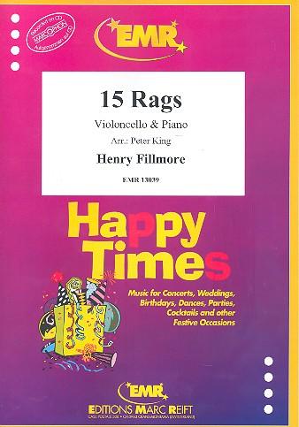 15 Rags: für Violoncello und Klavier